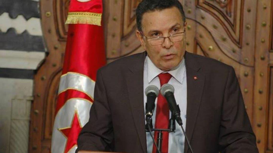 فرحات الحرشاني وزير الدفاع التونسي