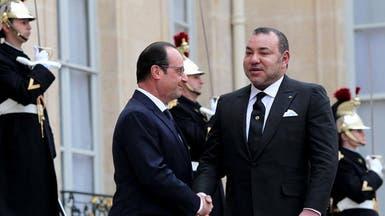 ملك المغرب يزور فرنسا ويجري محادثات مع هولاند