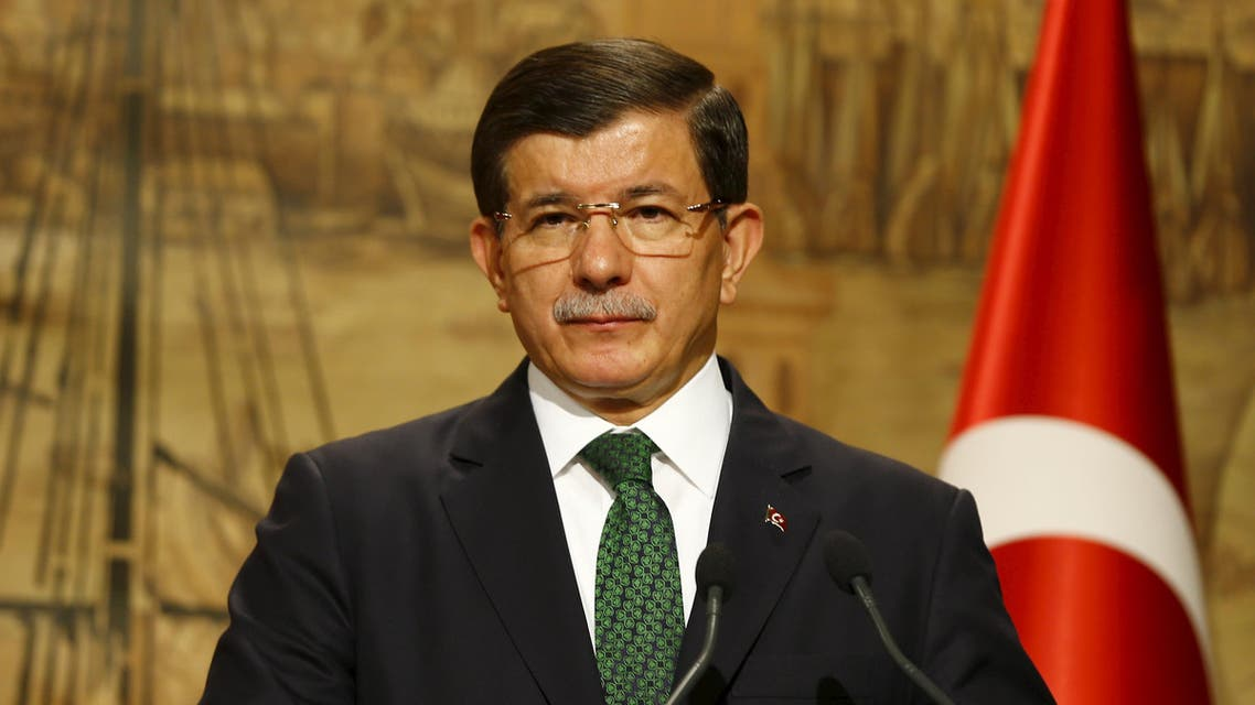 Prime Minister Ahmet Davutoglu told German Chancellor Angela Merkel that Turkey will stay responsive against Kurdish attacks in Syria. (File photo: Reuters)