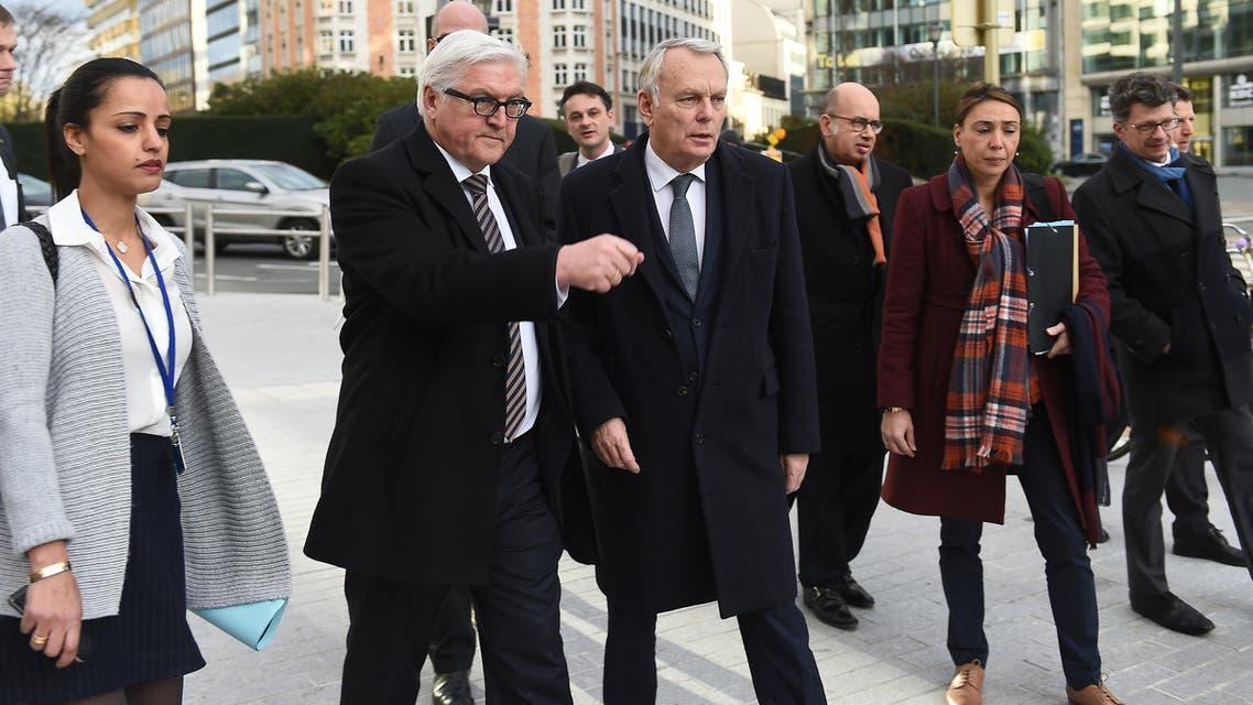 وزراء خارجية المانيا وفرنسا