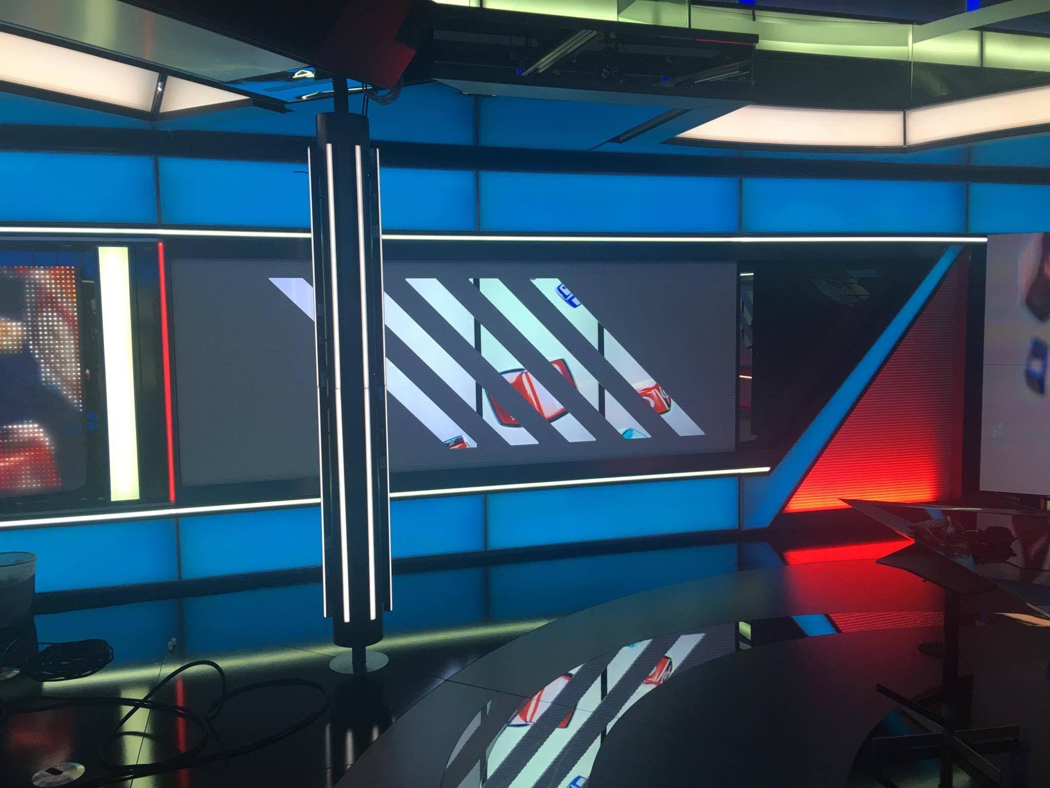 Al Arabiya's new state-of-the-art studio