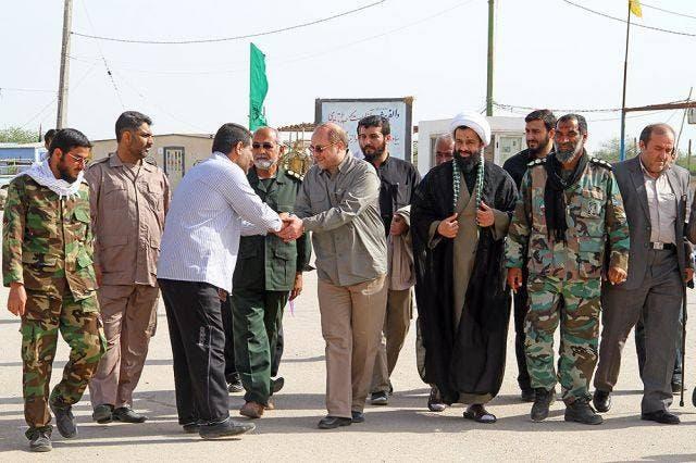 ميهن مع محمد باقر قاليباف عمدة طهران ومرشح الرئاسة السابق