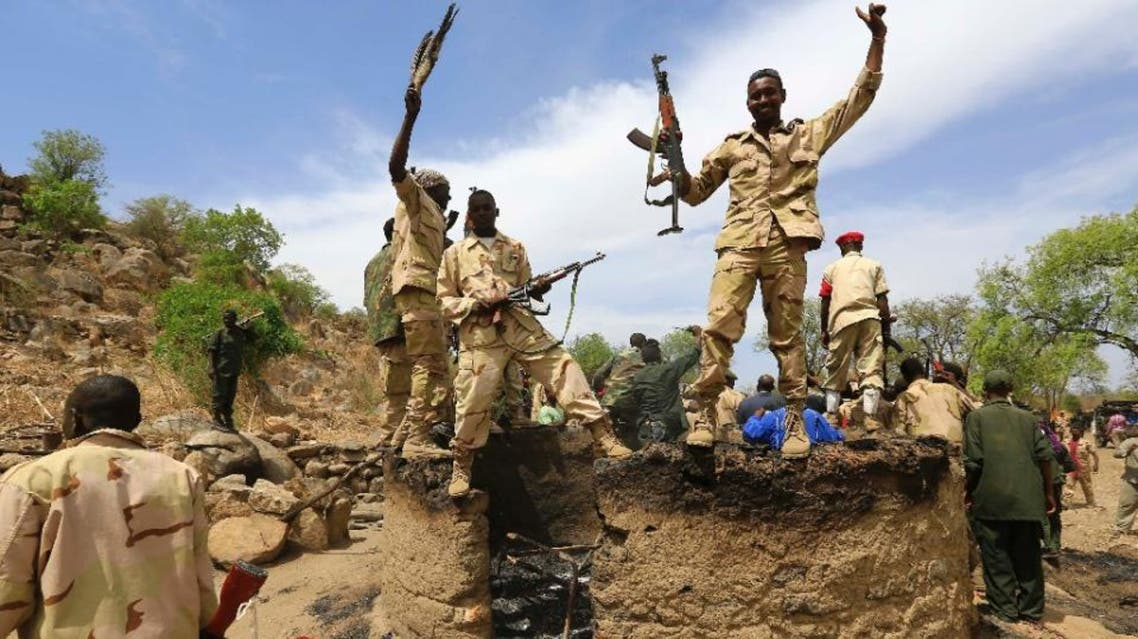 Sudanese troops, seen near South Kordofan's state capital Kadugli on May 20, 2014, have been in conflict with the People's Liberation Army-North since 2014 (AFP)