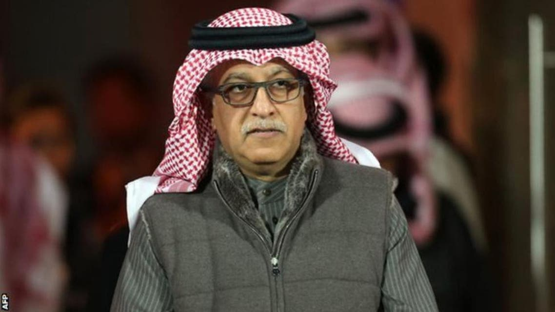 Sheikh Salman's credentials to run FIFA were questioned by the head of the English Football Association. (AFP)
