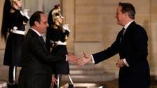 Cameron, Hollande agree 'firm basis' for EU deal