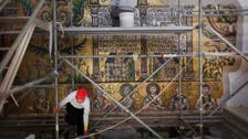 Palestinians renovate church at Jesus' birthplace