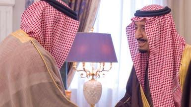 الملك سلمان يستقبل الزياني والمسؤولين عن النزاهة