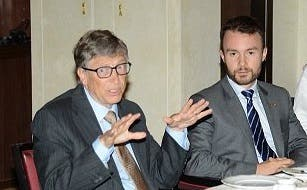 hassan with bill gates