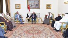 خلیجی بھائیوں کے دفاع کے لیے خون بھی حاضر ہے: السیسی