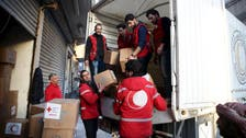 Syria aid trucks to set off from Damascus: Red Crescent