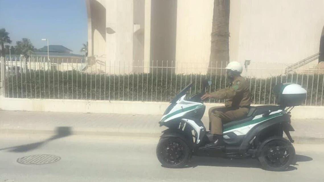 دراجات إدارة المرور السعودية
