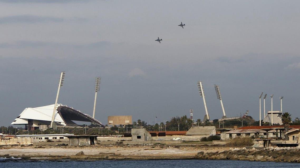 Russian warplanes fly in the sky over the Mediterranean coastal city of Latakia, Syria January 28, 2016. (Reuters)