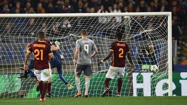 ريال مدريد يعود من روما بهدفين
