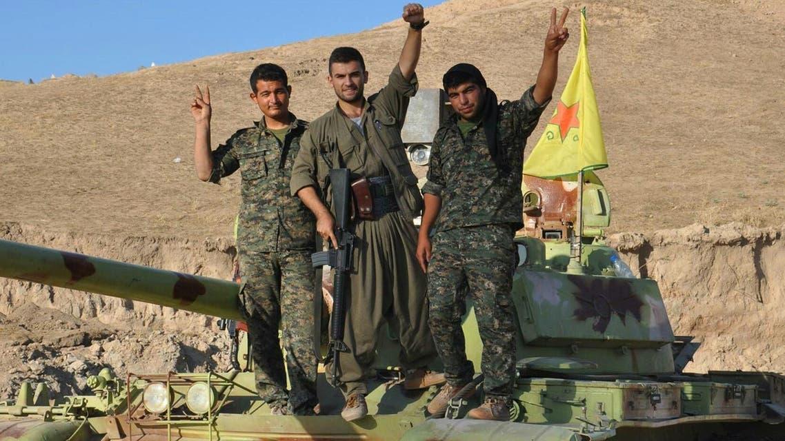 یگان های کرد مدافع خلق