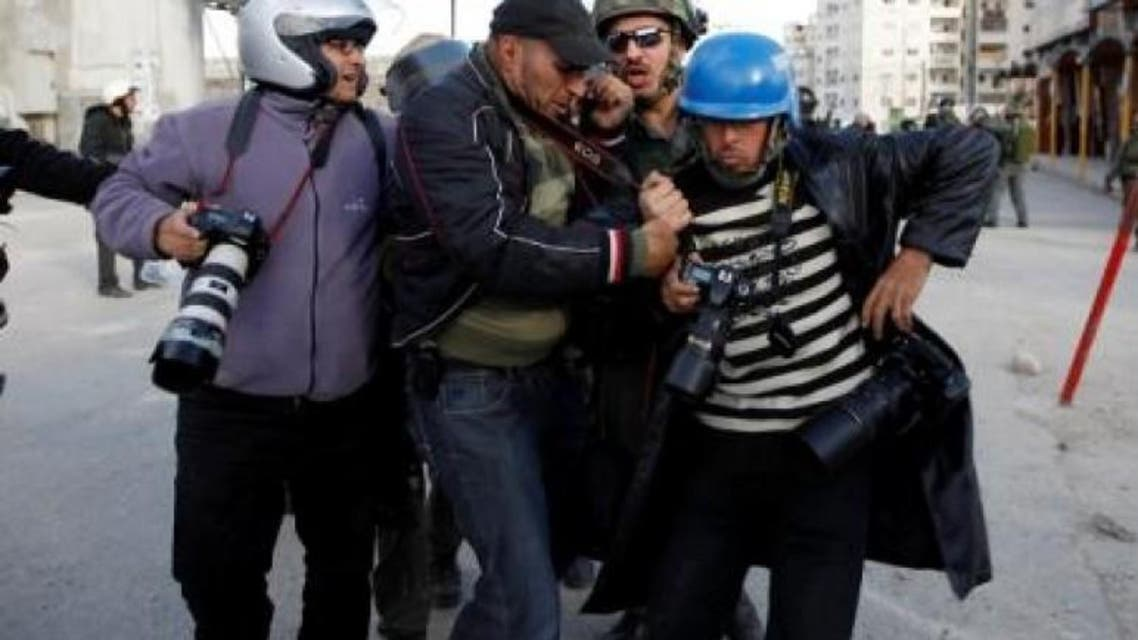 اعتداء على الصحفيين في العراق