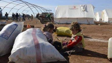 120 ألف نازح سوري بحدود تركيا يواجهون الموت أو التشريد