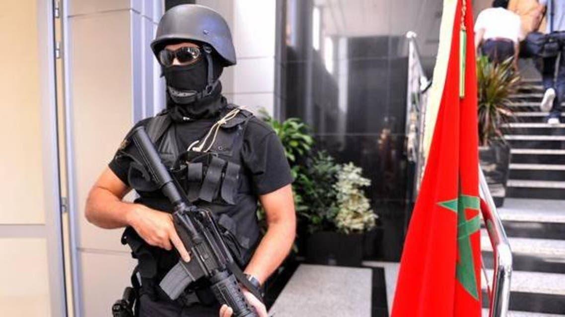 عنصر من فرقة النخبة من مكتب  محاربة الإرهاب - المغرب 3
