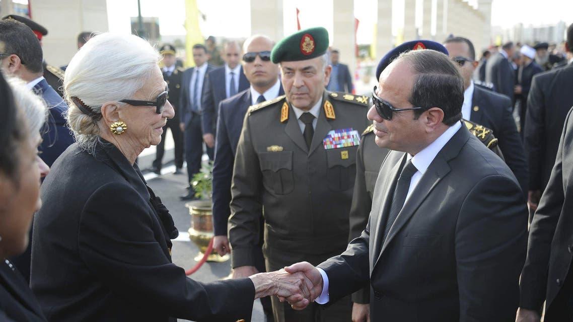 Egypt buries veteran diplomat Boutros-Ghali