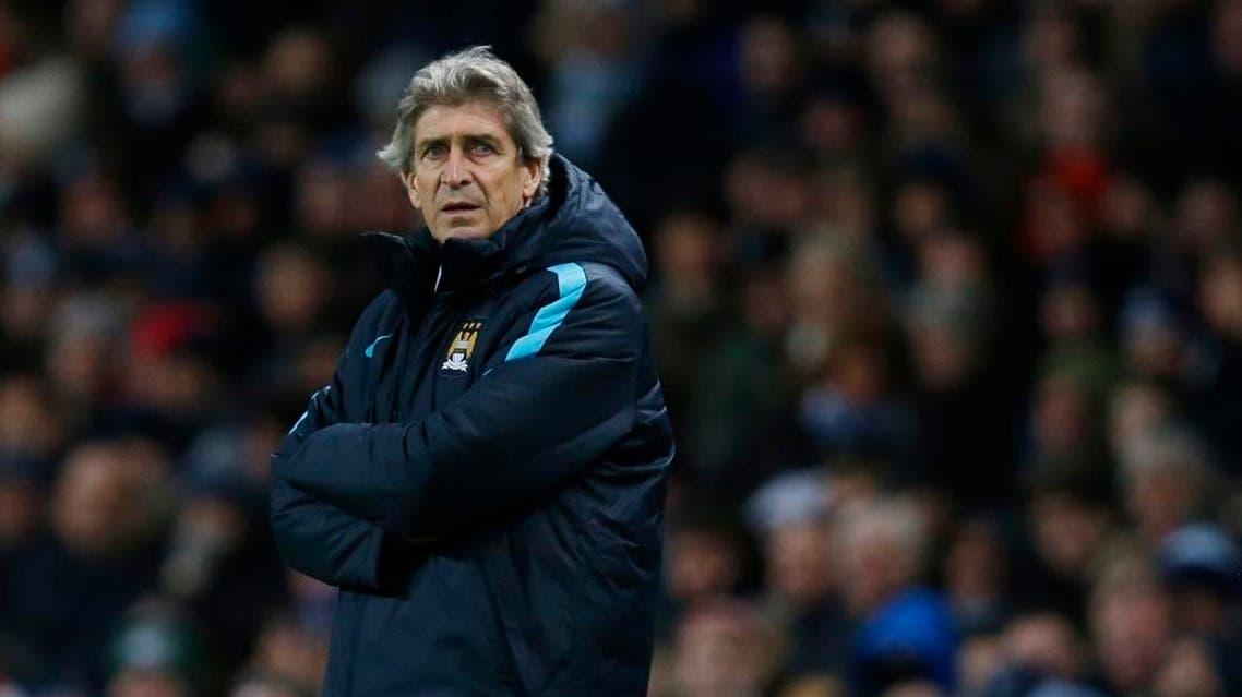 Manchester City manager Manuel Pellegrini (Reuters)