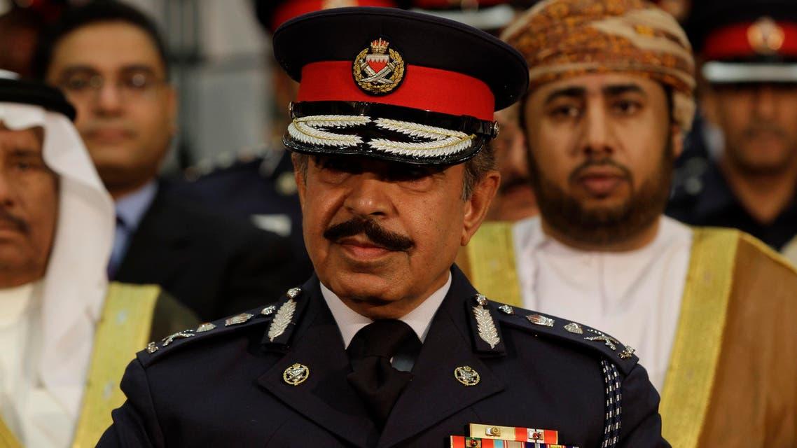 Bahraini Interior Minister Lt.-Gen. Sheikh Rashid bin Abdulla Al Khalifa AP