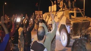 بالفيديو.. الجيش الليبي في أجدابيا وفرار الإرهابيين