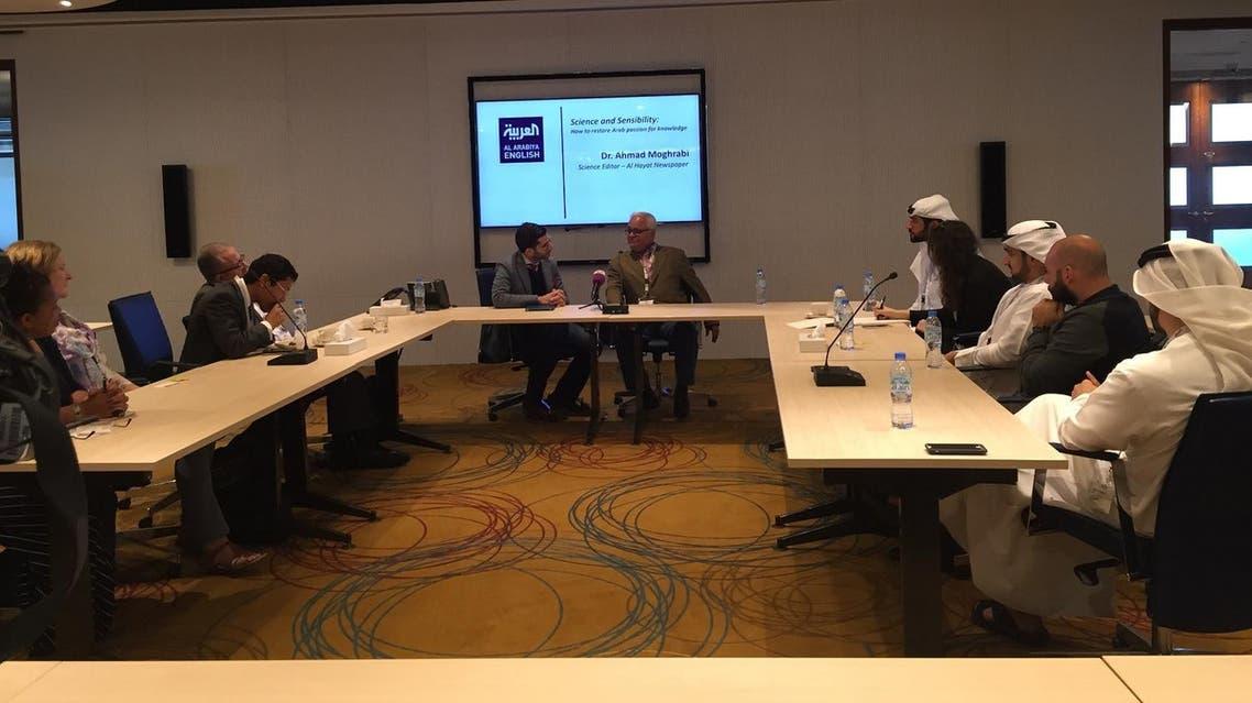 Science and Sensibility round table (Al Arabiya English)