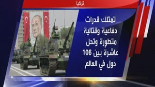 ما هي القدرات العسكرية لتركيا؟