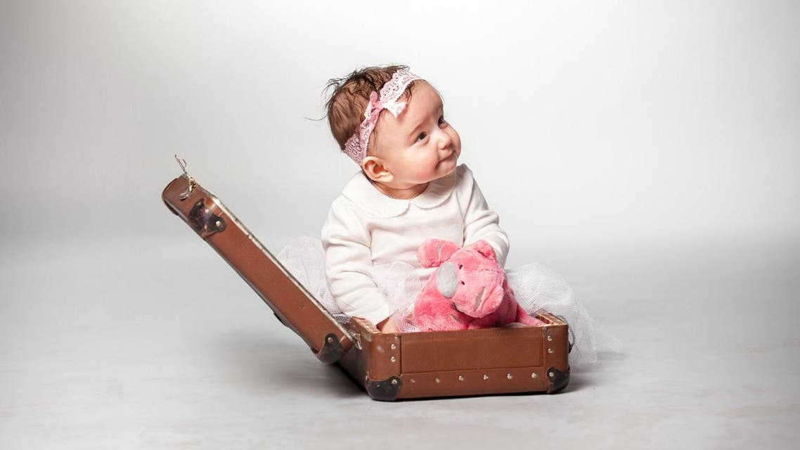 baby travelling shutterstock