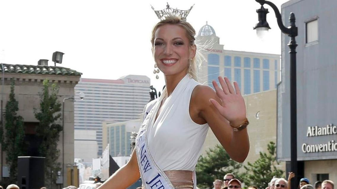 Ex-Miss New Jersey Cara McCollum died with her family by her side in a hospital operating room and her organs were donated. (AP)