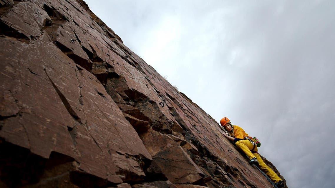 Meet Iran's female rock climber