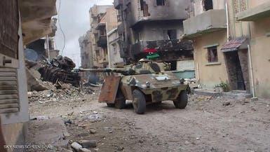 الجيش الليبي يقترب من تحرير بنغازي ويحرر مواقع بأجدابيا
