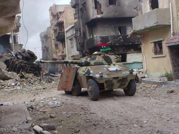 الجيش يقترب من السيطرة على بوابة القوارشة غرب بنغازي