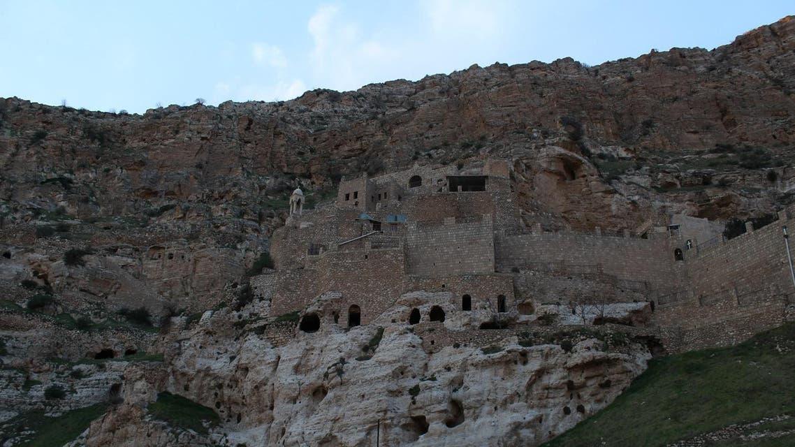 Over historu, the Rabban Hormizd monastery has been destroyed and rebuilt several times. (Florian Neuhof/Al Arabiya English)