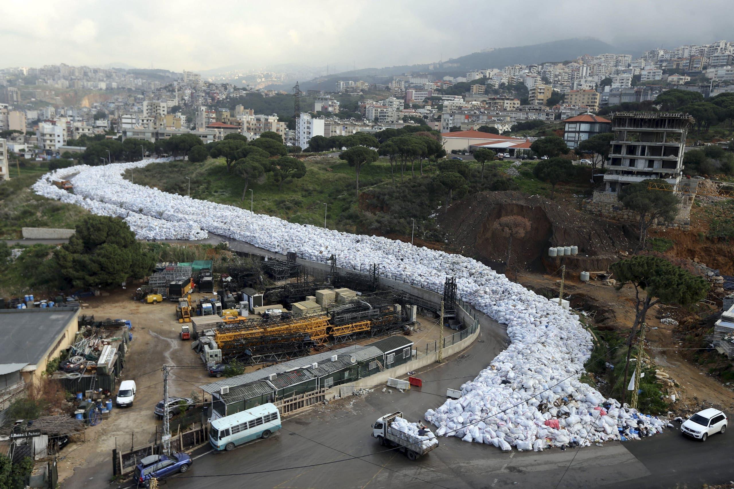 Lebanon's garbage overflow