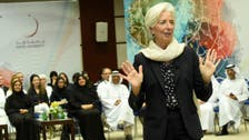Christine Lagarde's success tips? Re-invent yourself and keep fit