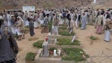 الحوثيون يفتتحون عشرات المقابر لدفن قتلاهم
