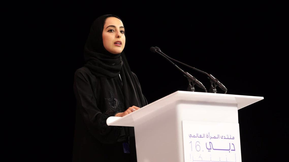 شما المزروعي - وزيرة الشباب الإمارات