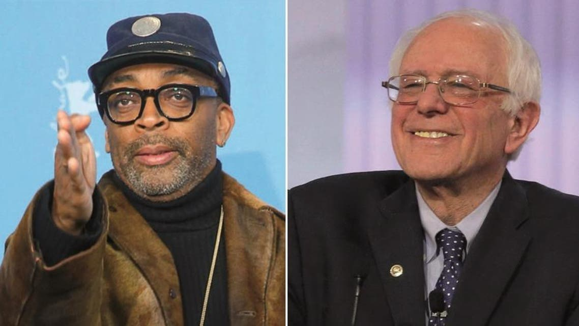 """Arguing, in Sanders' words, that the """"system is rigged,"""" Lee praises Sanders for not taking money from corporations. (Reuters)"""