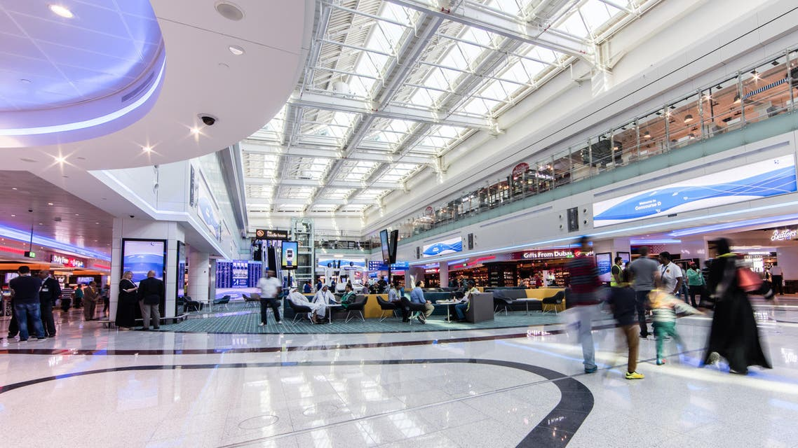 This, Tuesday, Feb. 23, 2016 image released by the Dubai Airport and made available today, shows the Dubai airport new Concourse D which increase the total passenger capacity of the airport from 75 million to 90 million, in Dubai, United Arab Emirates.  (AP)