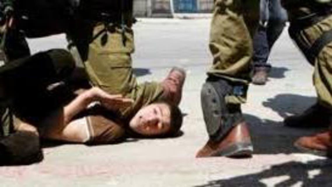 إسرائيل تعذيب أطفال حقوق أسرى طفل