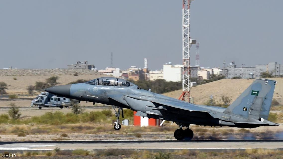Saudi F-15 warplanes were involved in recent bombing raids over Yemen. (AFP)
