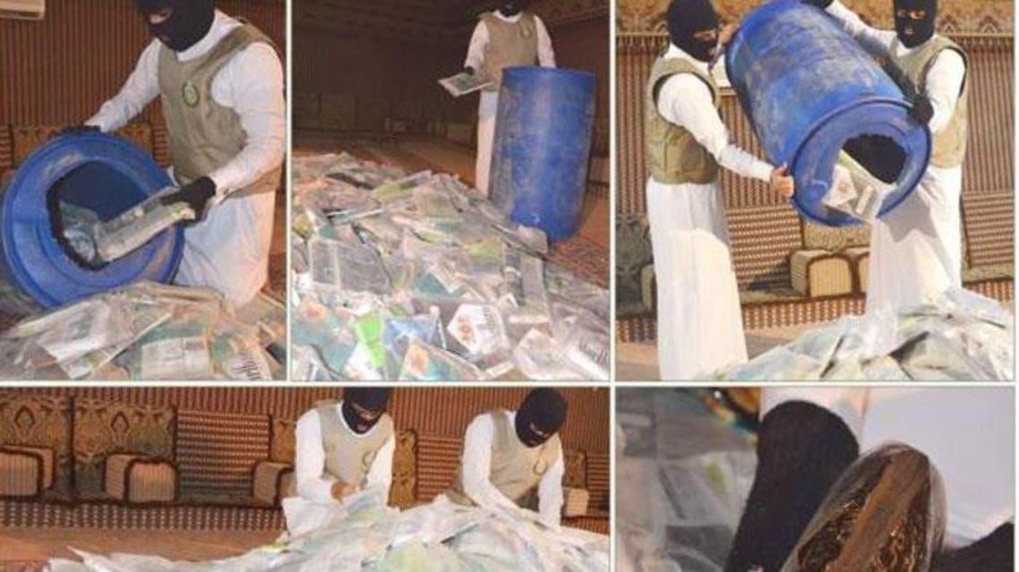Most of the drugs smuggled into Saudi Arabia are amphetamine tablets and hashish. (Saudi Gazette)