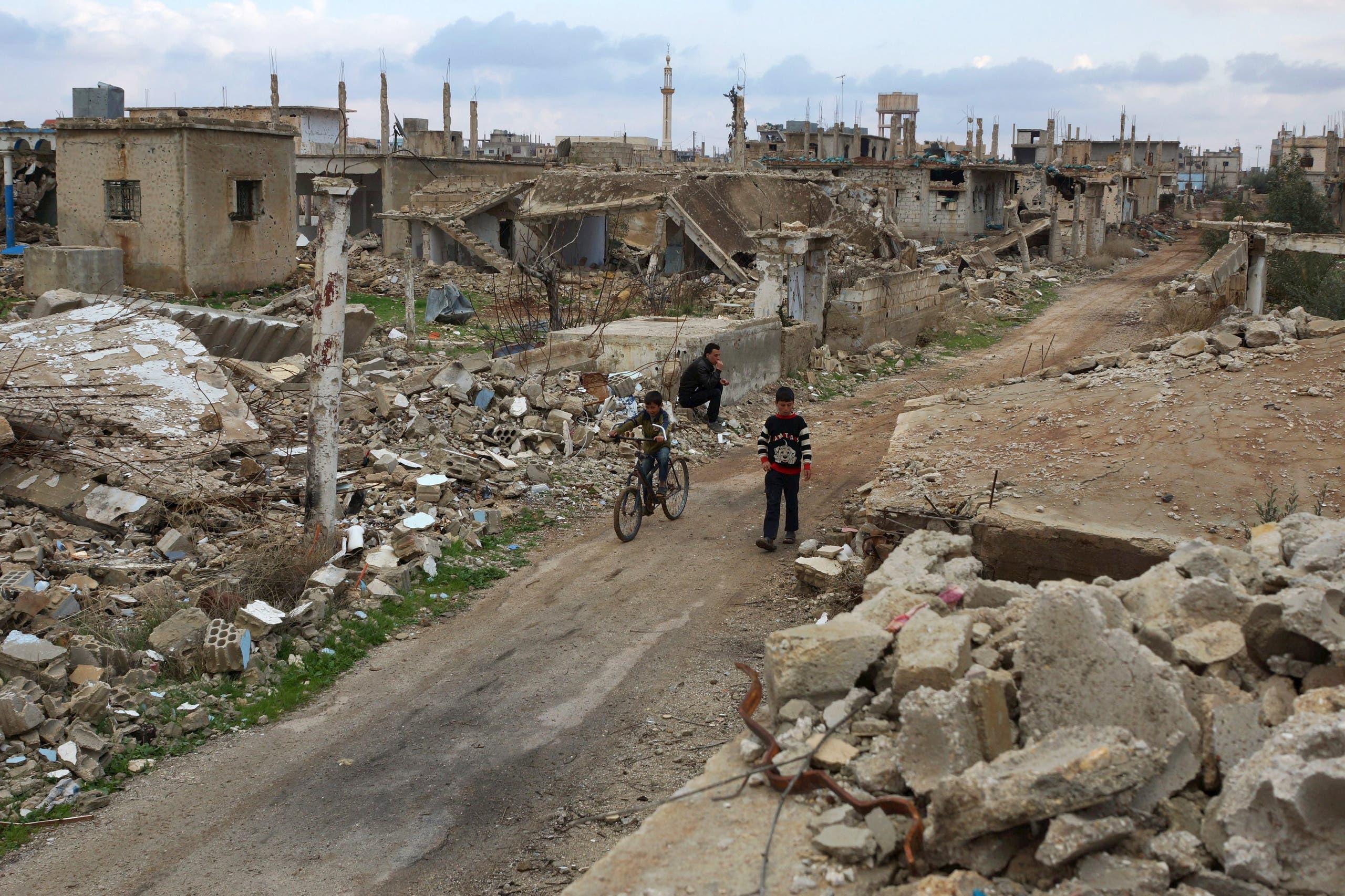 درعا تتعرض لحملة جوية مكثفة منذ الاثنين