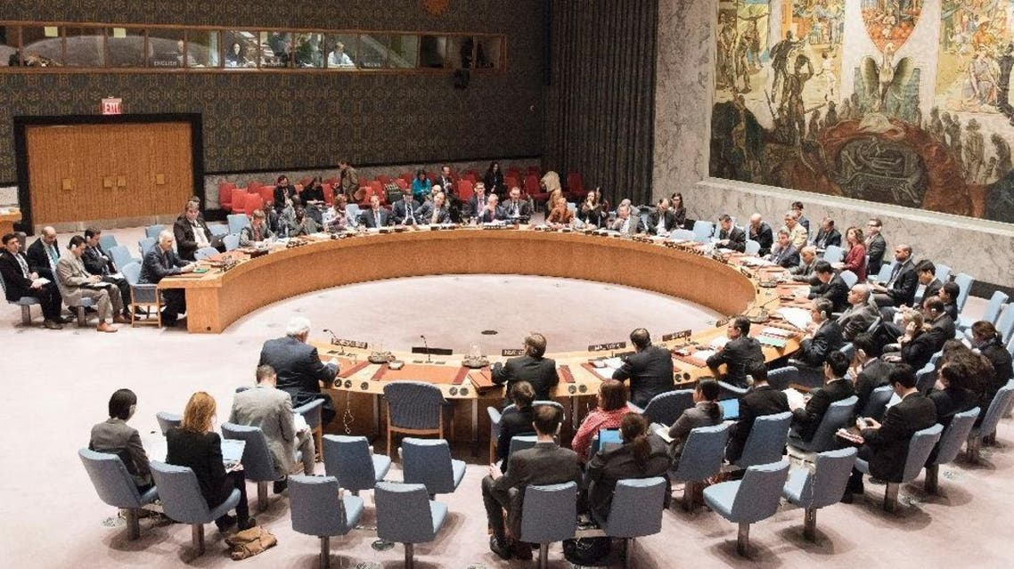 The United Nations Security Council meeting on the situation in Syria on February 24, 2016 at the UN in New York (AFP)
