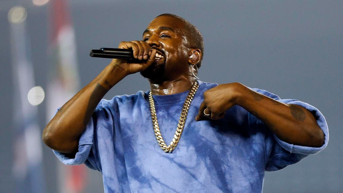 Kanye West performs during the closing ceremony of the Pan Am Games Sunday, July 26, 2015, in Toronto. AP