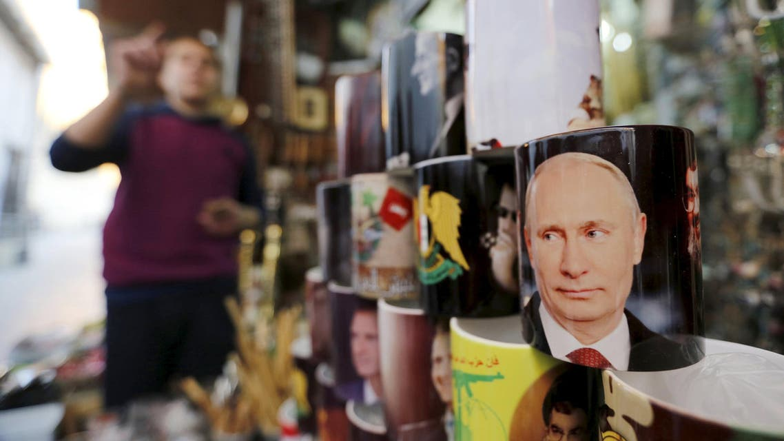 Syria's Hero? Putin craze takes hold on Syrian streets