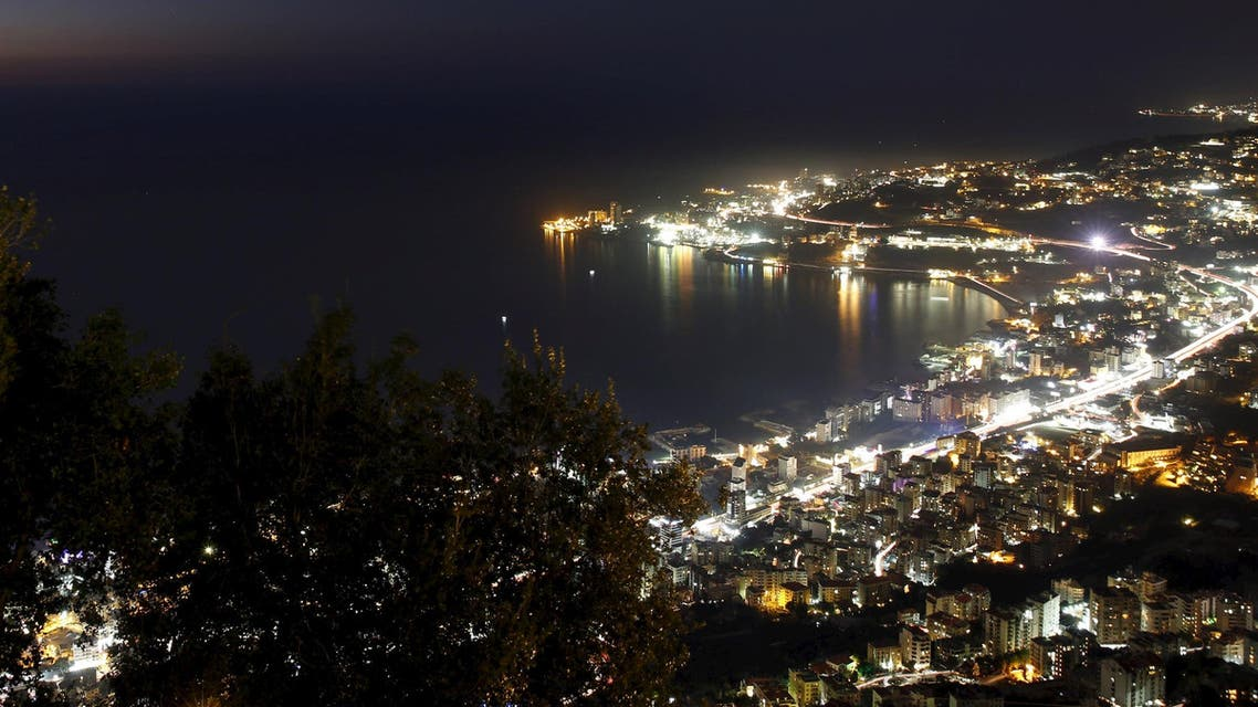A general view of the Bay of Jounieh with houses and roads, from Harissa mountain, north of Beirut, Lebanon, February 15, 2016. (Reuters)