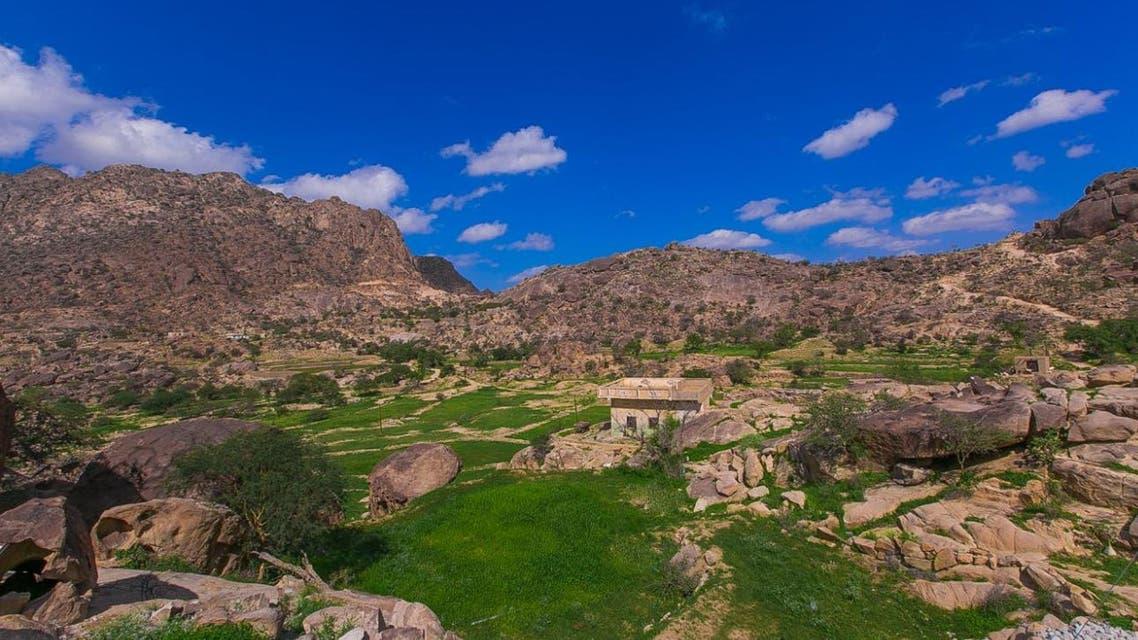 السعودية جبال