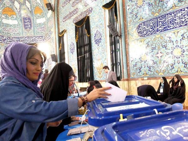 إغلاق مراكز الاقتراع بالانتخابات الإيرانية