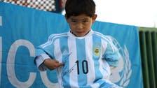 ننھے افغان مداح کی فیورٹ فٹبالر میسی سے ملاقات جلد ہو گی